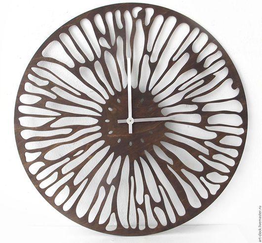 """Часы для дома ручной работы. Ярмарка Мастеров - ручная работа. Купить Дизайнерские настенные часы  Стрекоза"""". Handmade. Комбинированный, подарок"""