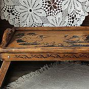 Для дома и интерьера handmade. Livemaster - original item Tray table Italian country