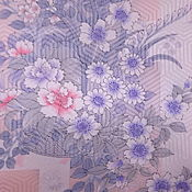 Антикварный японский шелк 70х гг