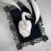 Brooches handmade. Livemaster - original item Copy of the Brooch-bird