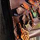 Женские сумки ручной работы. Сумка Веточка. Мастерская ГришЛАНдия (grishlandia). Ярмарка Мастеров. Осень, Кожаная сумка