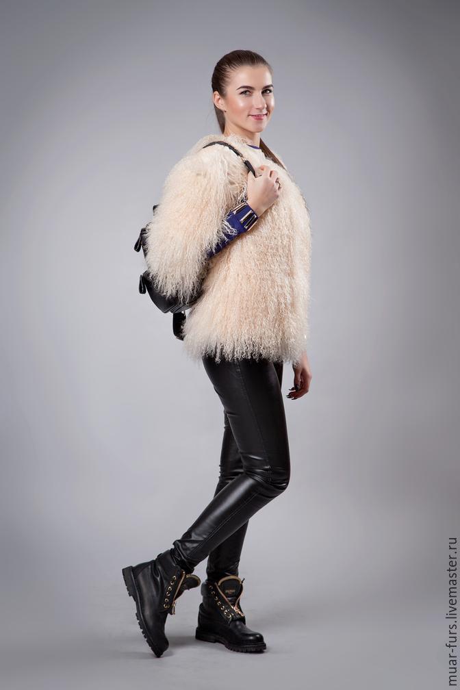 The coat of the llama 'Miss Kate', Fur Coats, Kirov,  Фото №1