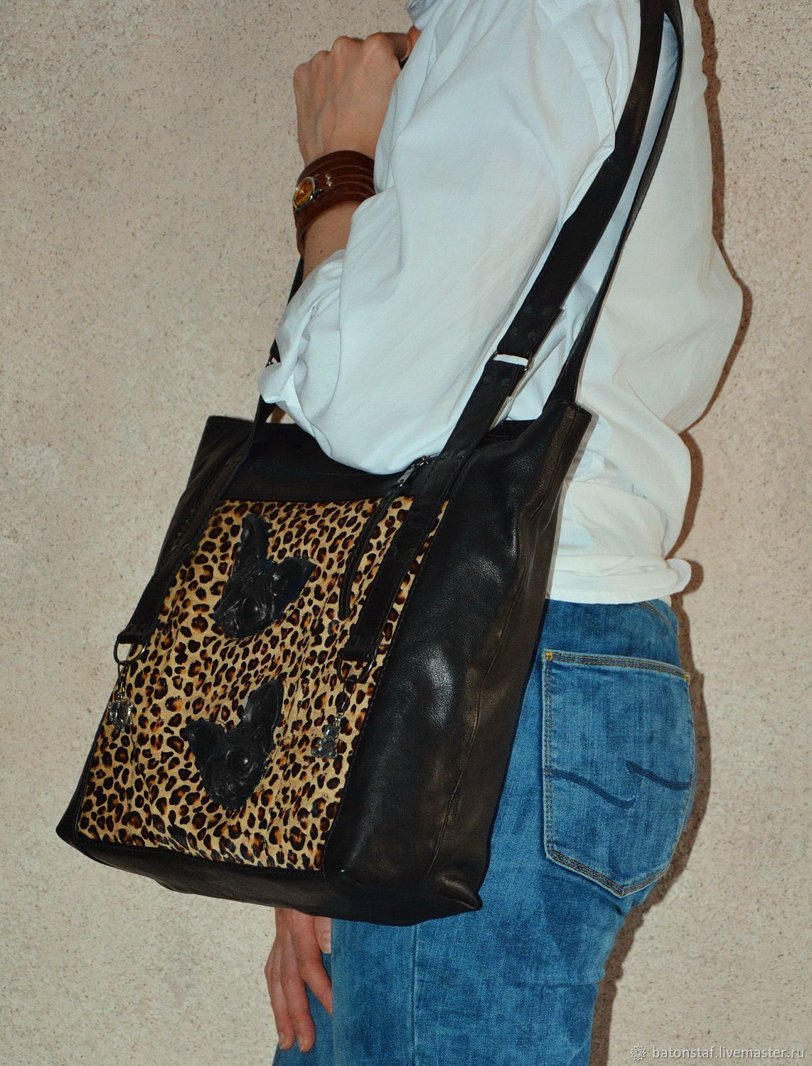 Bags: Bag pack - Sphinx cat. Leopard, Classic Bag, Moscow,  Фото №1