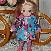 """Одежда для кукол ручной работы. Ярмарка Мастеров - ручная работа Куртка """"Цветы"""" для кукол Пукифи, Лутс, Лати, Baboliy. Handmade."""
