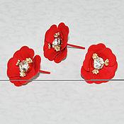 Материалы для творчества ручной работы. Ярмарка Мастеров - ручная работа Декоративные цветочки для декупажа. Handmade.