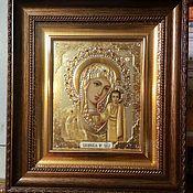 Картины и панно handmade. Livemaster - original item Icons Wedding couple in Kyoto 35h30cm 2 PCs. Handmade.
