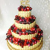 Букет из конфет Фруктовый торт