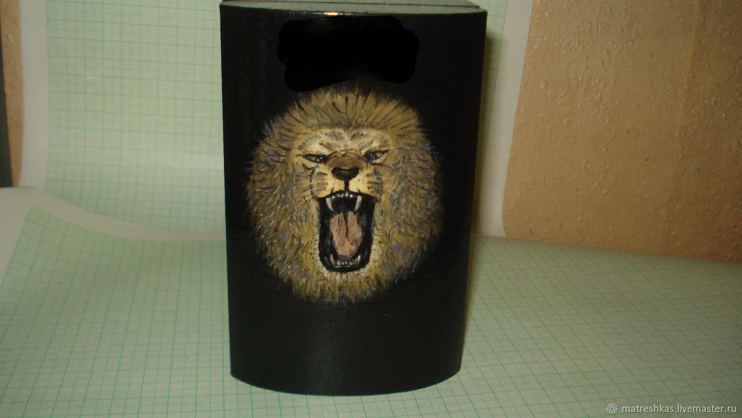 Customized Gifts handmade. Livemaster - handmade. Buy Box 'Lion'.Unique work, leo, the box for details