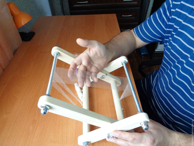Станок для плетения бисером своими руками схема