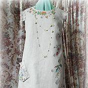 Одежда ручной работы. Ярмарка Мастеров - ручная работа Платье-в ожидании лета. Handmade.