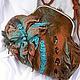 """Женские сумки ручной работы. Ярмарка Мастеров - ручная работа. Купить Сумка валяная """"Хозяйка медной горы"""". Handmade. коричневый"""