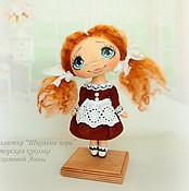 """Куклы и игрушки ручной работы. Ярмарка Мастеров - ручная работа Малютка """"Школьная пора"""". Handmade."""