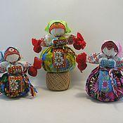 """Куклы и игрушки ручной работы. Ярмарка Мастеров - ручная работа Народная кукла """"Кубышка травница """" (лавандовая). Handmade."""