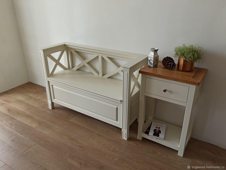 этого надо скамейка для спальни в стиле прованс фото же, как