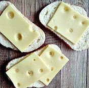 Косметика ручной работы. Ярмарка Мастеров - ручная работа Мыло Бутерброд с сыром. Handmade.