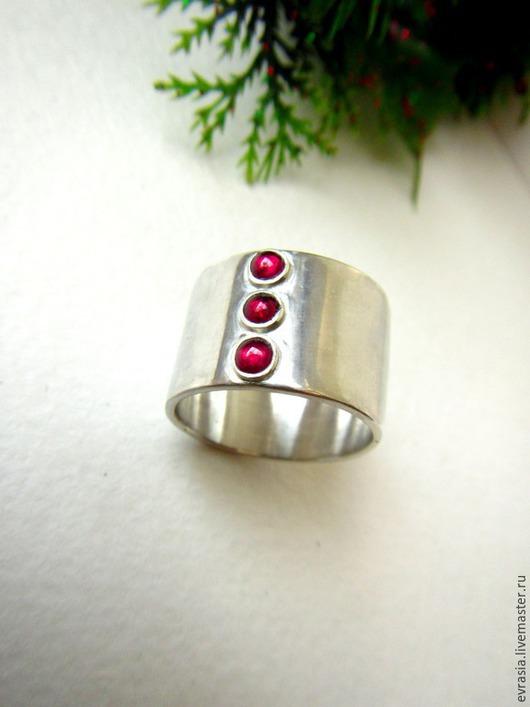 """Кольца ручной работы. Ярмарка Мастеров - ручная работа. Купить Кольцо """"Ruby Silver """" -рубины ,серебро 925. Handmade."""