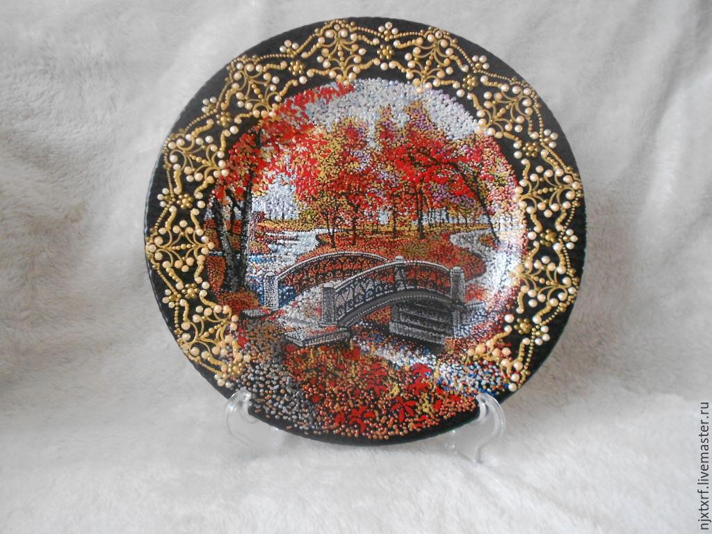декоративные тарелки-пейзажи, Вазы, Изобильный,  Фото №1