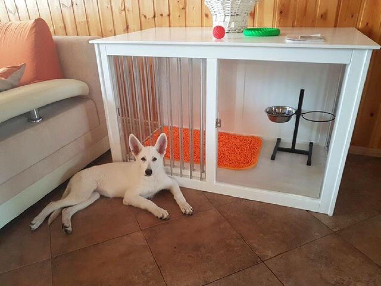 Клетка-тумба с раздвижной дверкой для собаки, Аксессуары для собак, Череповец, Фото №1
