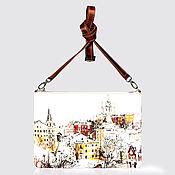 """Сумки и аксессуары ручной работы. Ярмарка Мастеров - ручная работа Клатч """"Самый лучший город на земле"""". Handmade."""