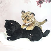 handmade. Livemaster - original item Panther sold. Handmade.