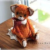 Куклы и игрушки ручной работы. Ярмарка Мастеров - ручная работа Лисёнок из плюша. Handmade.