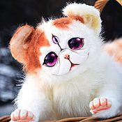 Куклы и игрушки ручной работы. Ярмарка Мастеров - ручная работа Полтора кота породы экзот. Handmade.