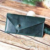 Сумки и аксессуары handmade. Livemaster - original item women`s wallet. Handmade.