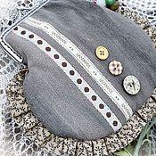 """Сумки и аксессуары ручной работы. Ярмарка Мастеров - ручная работа mini-bag """"Big-baby"""" маленькая сумка зеленый бежевый  Италия купить. Handmade."""