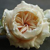 Цветы и флористика handmade. Livemaster - original item FABRIC FLOWERS. Silk flowers.Rose