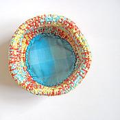 Для дома и интерьера ручной работы. Ярмарка Мастеров - ручная работа Корзинка для хранения. Handmade.