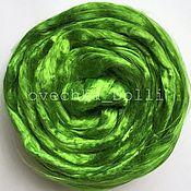 Материалы для творчества handmade. Livemaster - original item Viscose felting, 20 oz., Asparagus. Handmade.