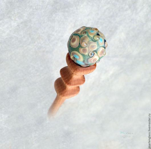 Заколки ручной работы. Ярмарка Мастеров - ручная работа. Купить Воспоминания о Японии. Handmade. Авторский лэмпворк, палочки для волос, заколка