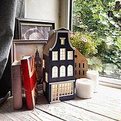 Материалы для творчества handmade. Livemaster - original item Set for creativity: Dutch house-lamp
