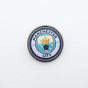 Украшения handmade. Livemaster - original item Icon football club Manchester city. Handmade.
