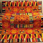 """Для дома и интерьера ручной работы. Ярмарка Мастеров - ручная работа Лоскутное покрывало """"Настроение"""". Handmade."""