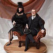 Портретная кукла ручной работы. Ярмарка Мастеров - ручная работа Портретная кукла на заказ. Handmade.
