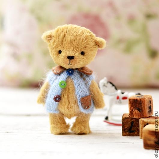 Мишки Тедди ручной работы. Ярмарка Мастеров - ручная работа. Купить Мишка тедди.Гек). Handmade. Бежевый, медведь тедди