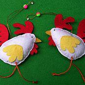 Подарки к праздникам ручной работы. Ярмарка Мастеров - ручная работа Новогодние елочные игрушки - Великолепная семерка. Handmade.