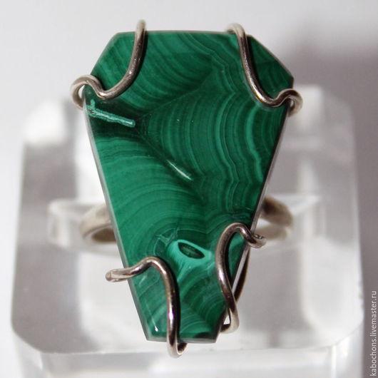 """Кольца ручной работы. Ярмарка Мастеров - ручная работа. Купить Кольцо """"Золото Африки""""  МАЛАХИТ Африка. Handmade. Тёмно-зелёный"""