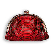 Сумки и аксессуары handmade. Livemaster - original item The clutch on the clasp from Python IMPERIA. Handmade.