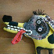 Подарки к праздникам ручной работы. Ярмарка Мастеров - ручная работа Весёлый собакен игрушка текстильная такса. Handmade.