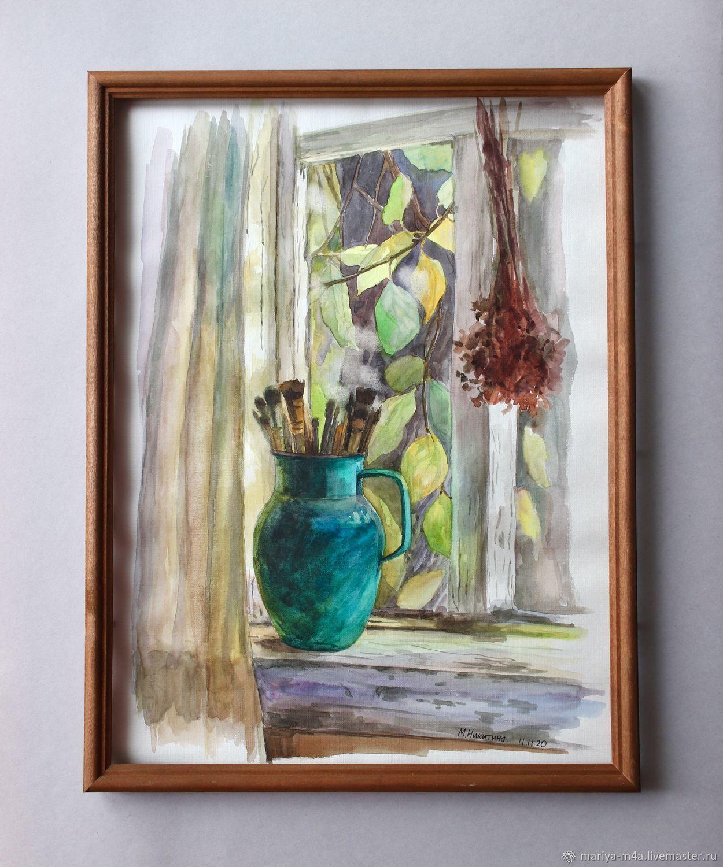 Осень за окном, 30*40, Картины, Сочи,  Фото №1