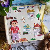 Куклы и игрушки handmade. Livemaster - original item Book-Dollhouse for a boy. Handmade.