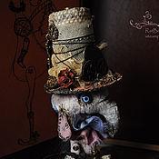 Куклы и игрушки ручной работы. Ярмарка Мастеров - ручная работа Steampunk, крыса Градиент. Handmade.