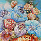 Colorful Summer a bouquet of flowers, painting flowers painting flower. Pictures. Art Gallery by Natalya Zhdanova. My Livemaster. Фото №4