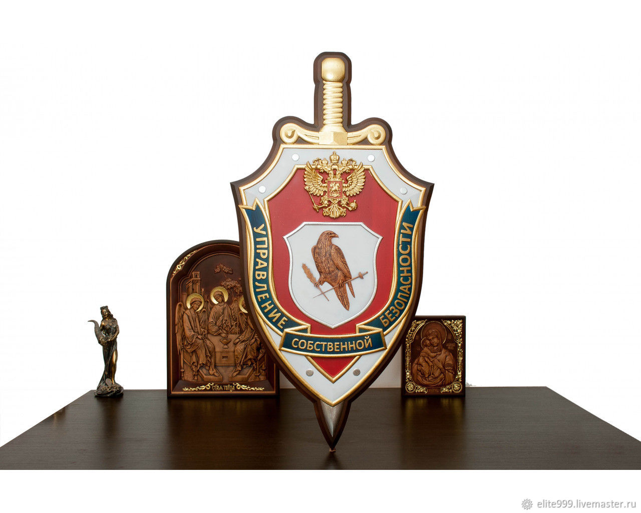 The coat of arms of the FSB`s Department of Internal Security Size: 480x900mm Availability: In stock 40000rub. 89087961144, 89236905757