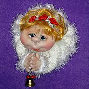 """Куклы и игрушки ручной работы. Ярмарка Мастеров - ручная работа Подвесная кукла """"Ангелочек"""". Handmade."""
