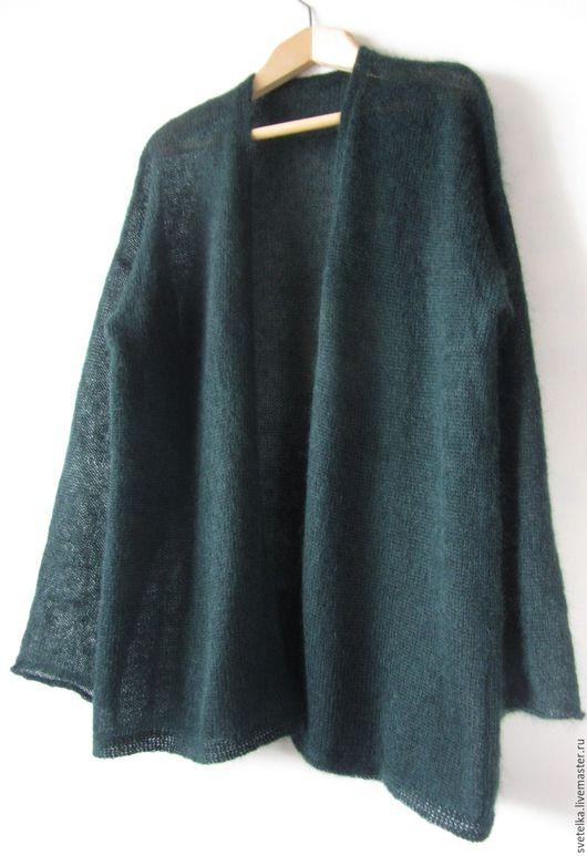 Кофты и свитера ручной работы. Ярмарка Мастеров - ручная работа. Купить кофта из мохера большого размера (52-56). Handmade.