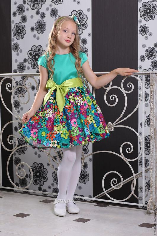 Одежда для девочек, ручной работы. Ярмарка Мастеров - ручная работа. Купить Платье детское для девочки Элли. Handmade. Платье