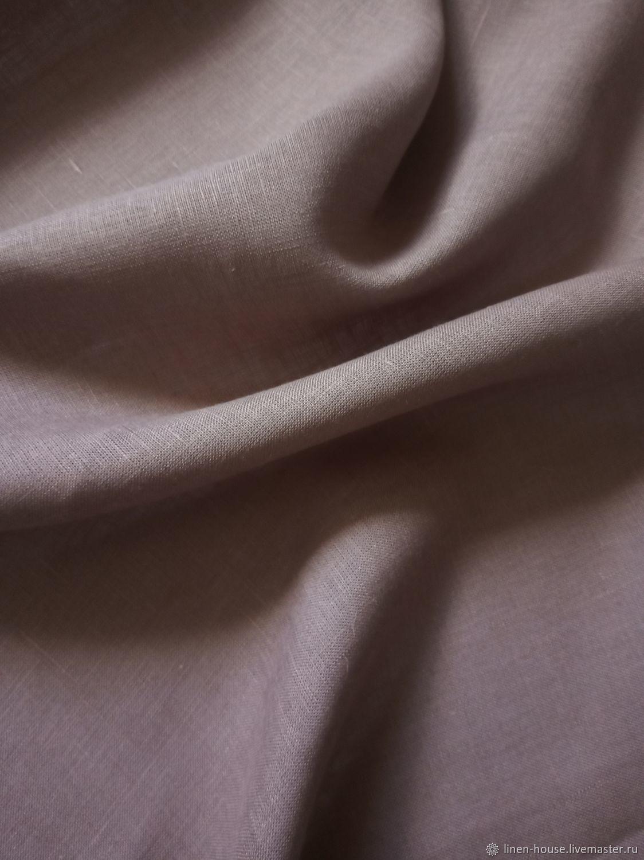 """Ткань для цветов ручной работы. Ярмарка Мастеров - ручная работа. Купить Ткань: Льняная ткань шириной 220 см """"Пепел розы"""". Handmade."""